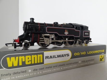 Wrenn W2218A 2-6-4 BR Black Tank Locomotive - 80064 - RARE