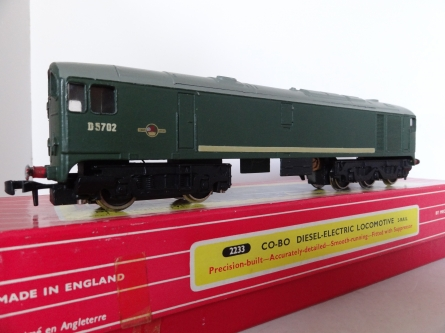 Hornby Dublo 2233 CO-BO Diesel Electric Locomotive - 2 Rail - Near Mint