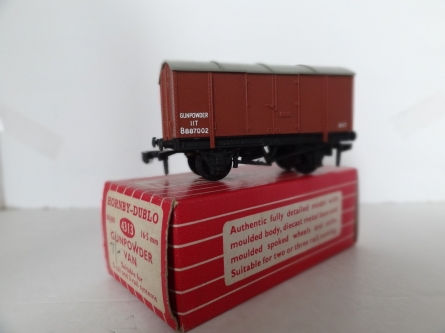 Hornby Dublo 4313 Gunpowder Van - 2/3 Rail - Boxed - Rare