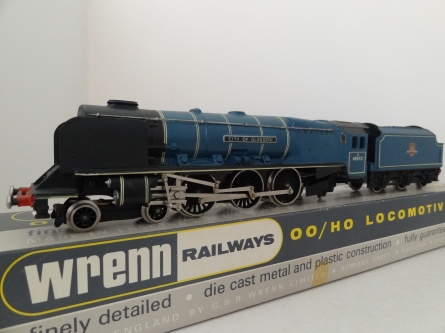 Wrenn W2229 City of Glasgow - Princess Coronation Pacific Class- Mid P3 Issue