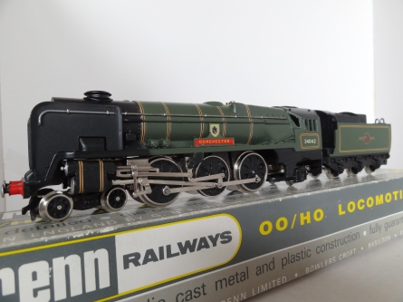 Wrenn W2236 Dorchester West Country- BR Green - 1987 Issue