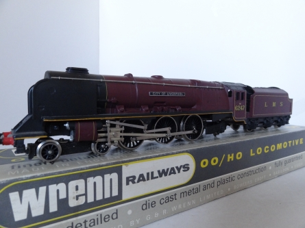Wrenn W2242 City of Liverpool - LMS Red - Early P4 Issue