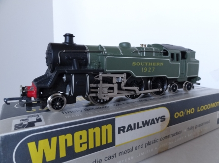 Wrenn W2245 2-6-4 Southern Region Tank Locomotive-SR Green - Late P3 Issue