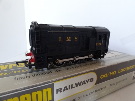 Wrenn W2233 0-6-0 Diesel Shunter - LMS Black - Late P3 Issue