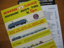 Wrenn Second N Gauge Catalogue N10/5/68-RARE