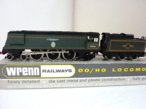 "Wrenn W2277 ""Spitfire"" Bullied Pacific in BR Green - RARE 1989 Issue"