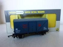"W.5087 ""Red Star"" Parcels Van - Blue - Long Box"