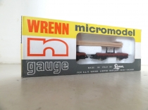 "Wrenn ""N"" Gauge Cat No 483 ""Plank Wagon"" with Load"