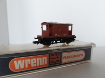"Wrenn ""N"" Gauge No 407 ""BR Brake Van "" - Brown - RARE"