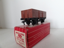 Hornby Dublo 4640 Goods Wagon - Brown - 2 Rail - Boxed