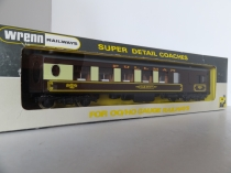 Wrenn W6000  No 77 Pullman Brk Coach - Brown/Cream - WT - Rare