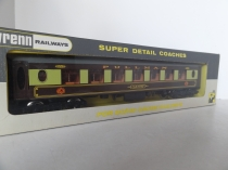 Wrenn W6001.A Car No 87 Brown/Cream Pullman Coach - BT