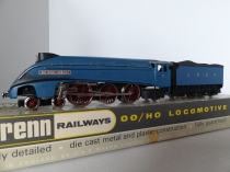"Wrenn W2212 ""Sir Nigel Gresley"" A4 Class - LNER /Garter Blue - Late P3 Issue"