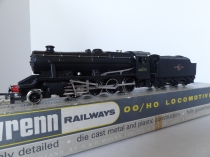 "Wrenn W2224 "" BR Black 8F"" Locomotive - 48073 - Late P3 issue"