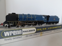 Wrenn W2229 City of Glasgow - Princess Coronation Pacific Class- Early P3 Issue