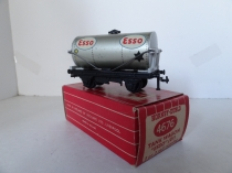 Hornby Dublo 4676 ESSO Tank Wagon - Grey- Black/Yellow Stars