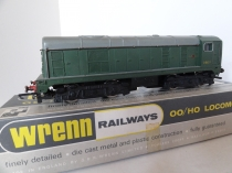 Wrenn W2230 BO-BO Diesel Loco - BR Green - D8017 - P3 Issue