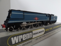 "Wrenn W2267 ""Lamport & Holt"" M/N Class Locomotive - BR Blue - Rare 1989 Issue"