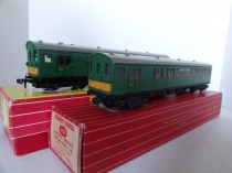 Hornby Dublo EMU Set 2250/4150 Brake and Trailer Coach - 2 Rail