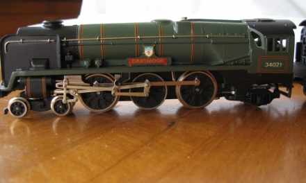 W2296 Dartmoor West Country Rebuilt Locomotive