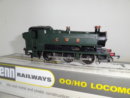 Wrenn/Graham Farish Pannier Tank - GWR Green - OPPORTUNITY MISSED