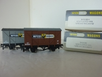 Wrenn Railways Brown and Grey Vented Vans - W.5100A/W.5100