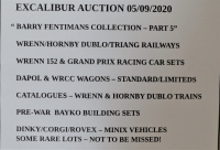 EXCALIBUR AUCTION 5/09/2020 - 9.00hrs Start - Unit 16, Abbots Buisness Park and on the saleroom.com